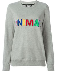 Markus Lupfer 'Animal' Sequinned Sweater - Lyst