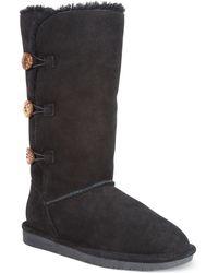 Bearpaw Lauren Cold Weather Fur Boots - Lyst