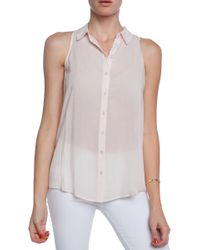 Bella Luxx P Collared Top - Lyst