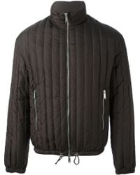 DSquared2 Brown Padded Coat - Lyst