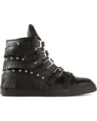 Giuseppe Zanotti Hi-top Sneakers - Lyst