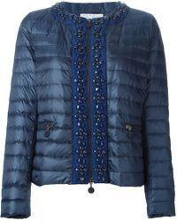 Moncler 'Cecile' Embellished Sweater - Lyst