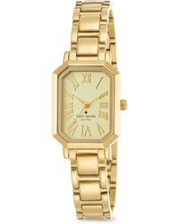 Kate Spade Hudson Goldtone Stainless Steel Bracelet Watch - Lyst