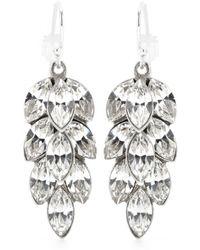 Ben Amun Peacock Crystal-embellished Earrings - Lyst