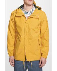 RVCA 'Skyhook' Hooded Waterproof Rain Jacket - Lyst