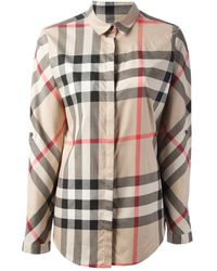 Burberry B Shirt - Lyst