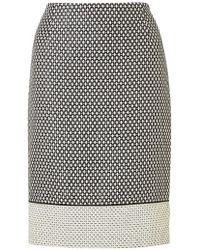 Jigsaw - Textured Pencil Skirt - Lyst