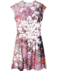 Carven Tree Spot Printed Dress - Lyst