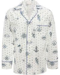 Alexander McQueen - Tattoo Print Pyjama Shirt - Lyst