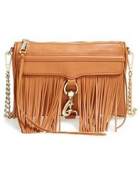 Rebecca Minkoff 'Fringe Mini Mac' Convertible Crossbody Bag - Lyst