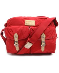 Diesel Red Messenger Bag - Lyst