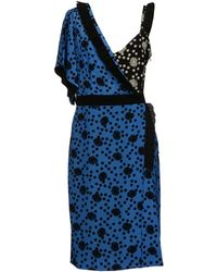Emanuel Ungaro Knee-length Dress - Lyst