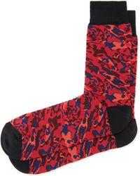 Alexander McQueen - Camo-print Socks - Lyst
