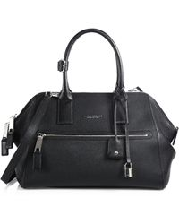 Marc Jacobs Incognito Small Textured Leather Top-Handle Bag - Lyst