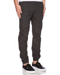 Publish Hewes Jogger in Black - Lyst