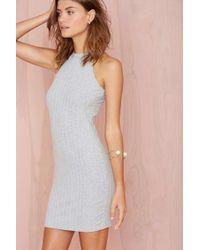 Nasty Gal Michelle Knit Dress - Lyst