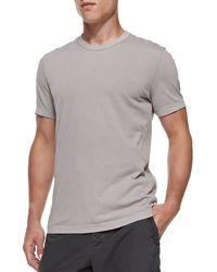 James Perse Cotton Crewneck Tee - Lyst