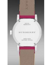 Burberry - The City Bu9149 34Mm - Lyst