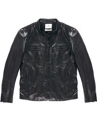 AG Adriano Goldschmied The Leather Jacket - Lyst