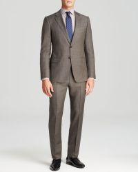 Armani Abito Textured Suit - Slim Fit - Lyst