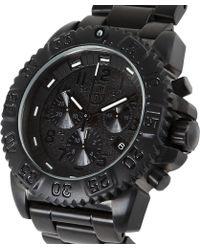 Luminox - Navy Seal Colormark Chronograph 3180 Series Watch - Lyst