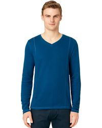 Calvin Klein French Rib Pullover - Lyst