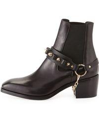 Daniele Michetti - Olivia Chain-strap Ankle Boot - Lyst