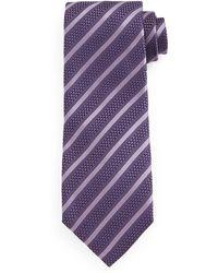 Tom Ford Diagonal-Striped Tie - Lyst