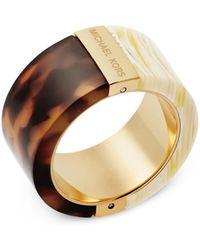 Michael Kors - Half & Half Ring - Lyst