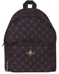 Vivienne Westwood Stella Orb Print Backpack - Lyst