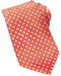 Valentino Dot Print Pattern Tie - Lyst
