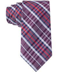 Tommy Hilfiger Large Plaid Tie - Lyst