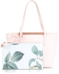 Ted Baker Tote - Lilley Small Crosshatch - Lyst