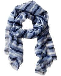 Banana Republic Melody Scarf Frost Blue - Lyst