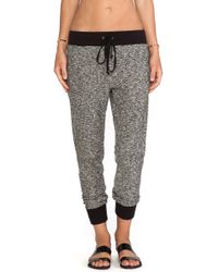 Enza Costa Lounge Pant - Lyst
