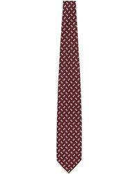 E. Marinella - Geometric Print Silk Tie - Lyst