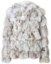 Matthew Williamson Fox Fur Jacket - Lyst