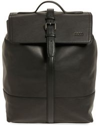 BOSS - 'melor' Leather Backpack - Lyst