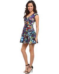 Nanette Lepore Painterly Dress - Lyst