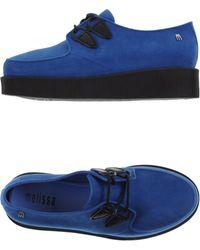 Melissa Lace-Up Shoes blue - Lyst