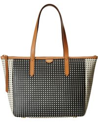 Fossil Sydney Shopper black - Lyst