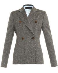 Jonathan Saunders Lorin Flecked Tweed Jacket - Lyst