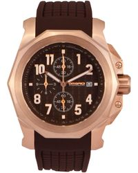 Orefici Watches - Galante Chronograph Watch With Rubber Strap - Lyst