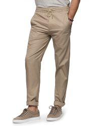 Folk | Washed Sand Drawcord Trousers | Lyst