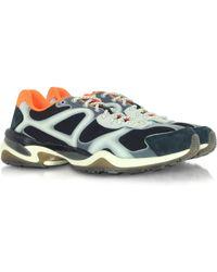 Alexander McQueen X Puma - Black And Whisper White Mcq Run Low Top Men s  Sneaker - 43fa89076