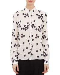 A.L.C. Falling Irisprint Song Blouse - Lyst