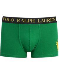 Pink Pony - Green Stretch Cotton Boxer Briefs - Lyst