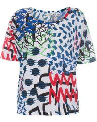 Paul Smith 'Felt Tip Drawing' Oversize T-Shirt - Lyst