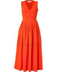 Preen Crepe Dress - Lyst