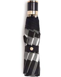 Burberry Prorsum   Check-print Collapsible Umbrella   Lyst